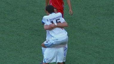 Los uruguayos gana la medalla de bronce