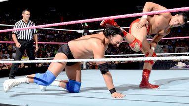 Alberto del R�o derrot� a Damien Sandow en un combate con mucho en jue...