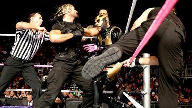 Bryan, Cody Rhodes y Goldust se aliaron para derrotar a The Shield en ...