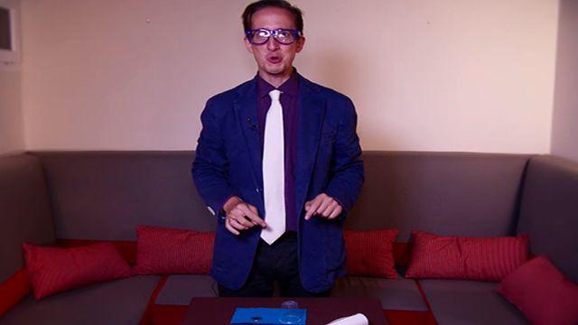 Tonio nos enseña a hacer un truco de magia