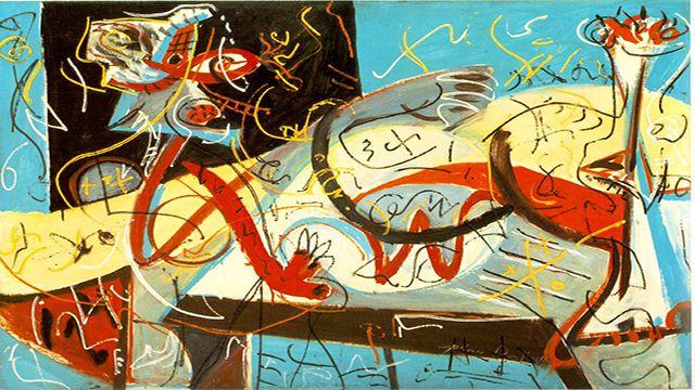 Pintar cómo Jackson Pollock con este juego online