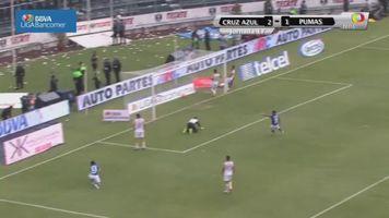 Jornada 17, Cruz Azul 2-1 Pumas, Clausura 2014