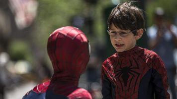"""Un ni�o puertorrique�o debuta en """"The amazing Spiderman 2"""""""