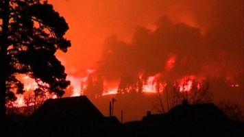 Diez muertos en un incendio en un arsenal militar en Siberia