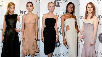 Noche de moda en la fiesta de Calvin Klein en Cannes