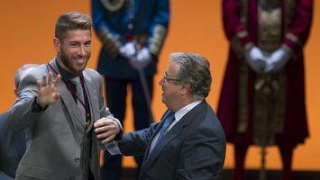 Sergio Ramos recibe la Medalla de Oro de Sevilla