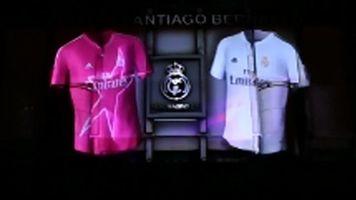 El Real Madrid da a conocer sus nuevas equipaciones