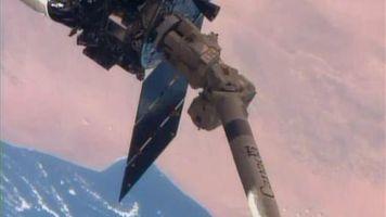 La c�psula Cygnus lleva alimentos al espacio