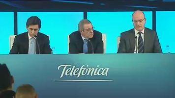 Telef�nica gana en el primer semestre 1.903 millones, el 7,5 % menos