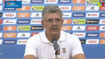 """Fueron muchas ganas, pero poco futbol ante Am�rica"", asegura ""Tuca"" Ferretti"