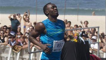 Usain Bolt gana una carrera de 100 metros en R�o de Janeiro