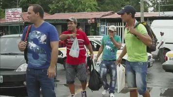 Autoridades migratorias de M�xico liberaron a n�ufragos cubanos