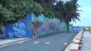 El arte urbano toma La Perla, el barrio m�s humilde de la capital boricua