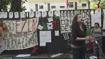 Argentina se manifiesta por estudiantes secuestrados en M�xico