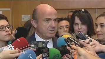 De Guindos: tras los test hay que analizar todas las alternativas para Bankia