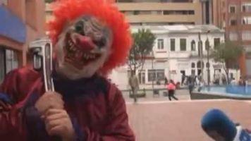 Colombia vive su d�a de Halloween con los disfraces m�s aterradores