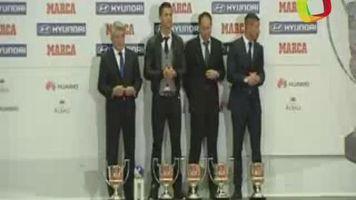 Ronaldo y Simeone protagonistas en la entrega de los premios Marca
