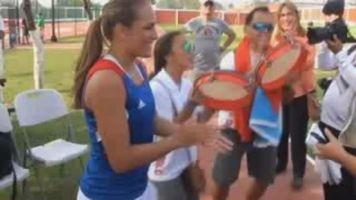 Tenista M�nica Puig, en busca de m�s t�tulos en 2015