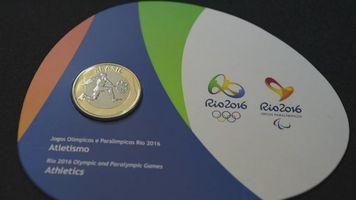 Monedas conmemorativas de Juegos Ol�mpicos R�o 2016