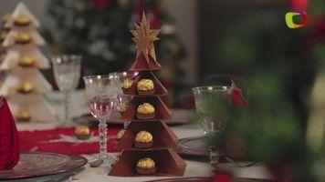 Haz un hermoso �rbol de Navidad s�lo con papel