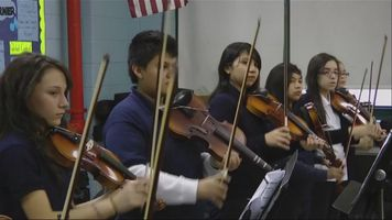 Clases de mariachi en escuelas p�blicas de Chicago