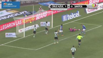 Jornada 2, Cruz Azul 1-0 Santos, Liga Mx, Clausura 2015