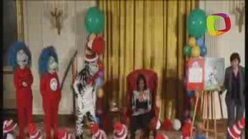 Michelle Obama fomenta lectura infantil rodeada de ni�os