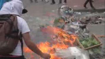 Disturbios en Venezuela para liberar presos pol�ticos