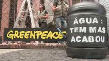 Greenpeace denuncia beneficios a empresas en crisis h�drica en Brasil
