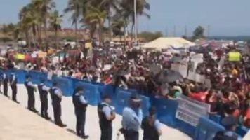 Universitarios toman San Juan contra recorte presupuestario
