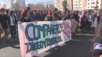 Marchan en Santiago por justicia para los j�venes asesinados