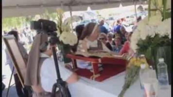 Reliquia del papa se venera en Puerto Rico