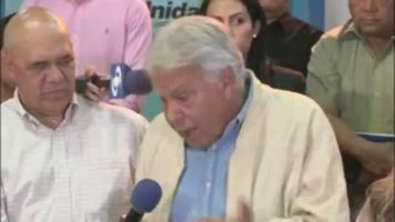 Felipe Gonz�lez acata decisi�n del Tribunal Supremo de Justicia