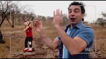 Jorge Al�s se burla en su estilo de la selecci�n Argentina