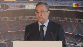 "Florentino P�rez: ""Sergio Ramos es un s�mbolo del madridismo"""