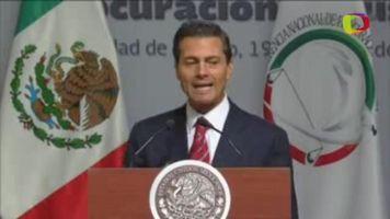 """Pe�a Nieto pide """"redoblar esfuerzos"""" para esclarecer ataques contra la prensa"""