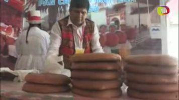 El pan chuta, �nico en Per� que mezcla el misticismo andino y sus costumbres