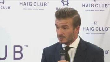 """David Beckham: """"Yo s�lo apuesto por el Real Madrid esta temporada"""""""