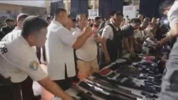 Objetos incautados en una c�rcel filipina de m�xima seguridad