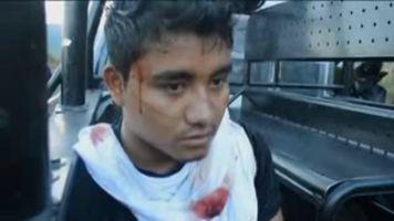 Enfrentamiento con la polic�a termina con estudiantes detenidos