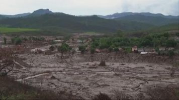 Derrame de presa en Brasil deja severas secuelas ambientas