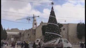 Bel�n se prepara para la Navidad con un llamado a la paz y a la justicia