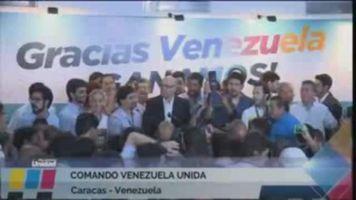 La oposici�n gana las elecciones en Venezuela