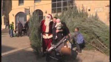 Jerusal�n vive la Navidad con menos visitantes por la ola de violencia