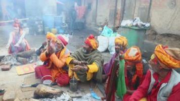Entre marihuana y oraciones miles celebran el Maha Shivaratri