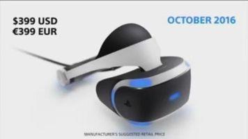 El casco de realidad virtual para PS4
