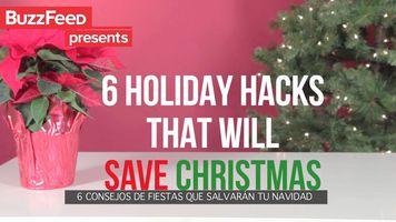 6 Consejos de fiestas que salvar�n tu Navidad
