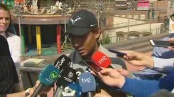 """Nadal: """"No me conformo con solo luchar, me gusta ganar"""""""