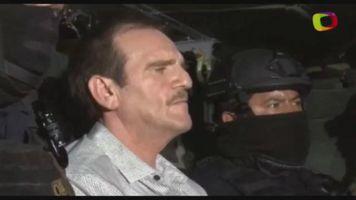 """""""El G�ero"""" Palma es recluido en penal del que huy� """"el Chapo"""""""