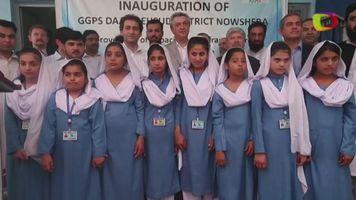 Inauguran una escuela de ni�as refugiadas en Pakist�n